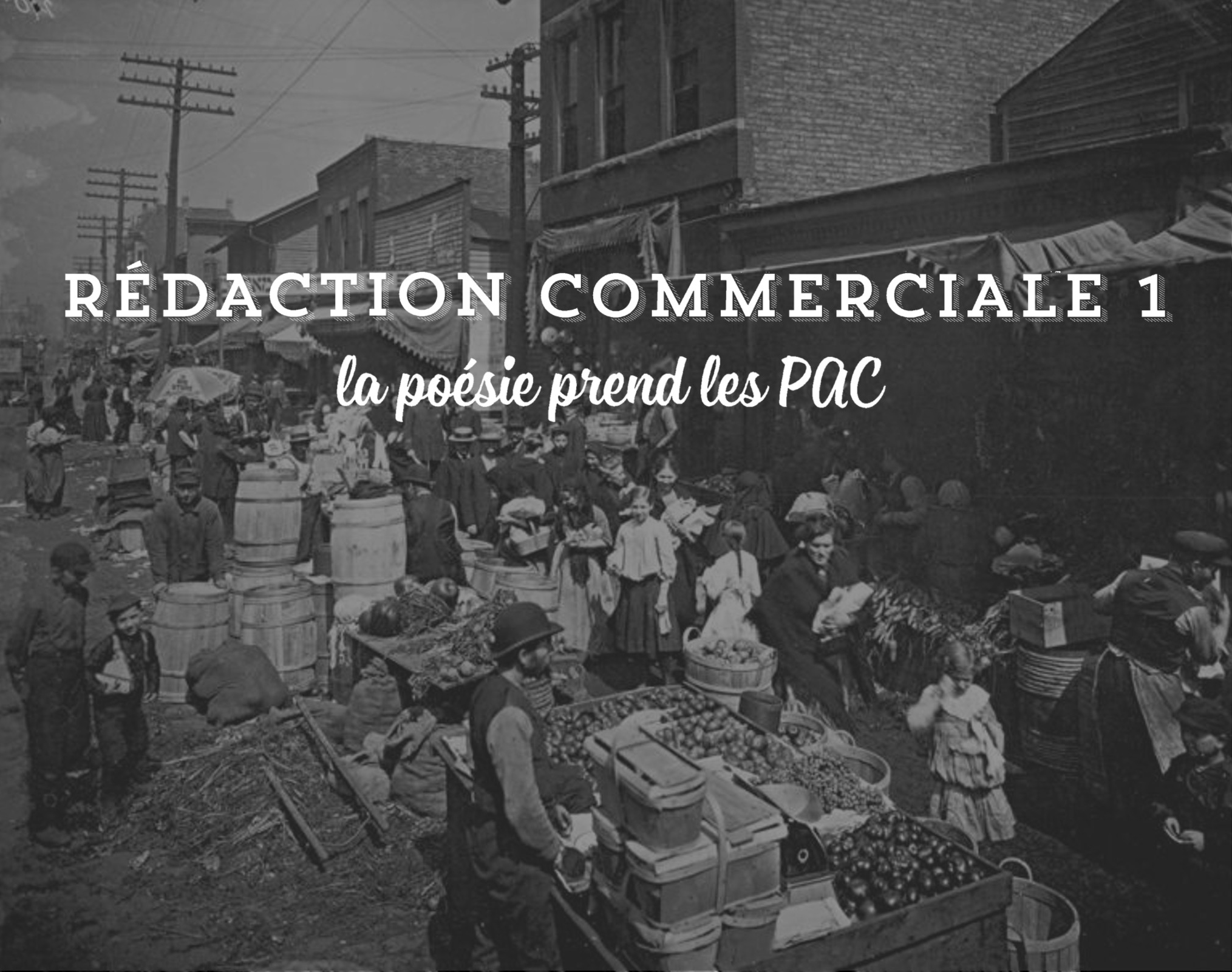 Rédaction commerciale 1